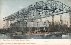 Fore River Iron Works Postcard