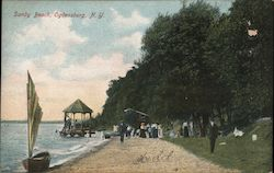 Sandy Beach Postcard