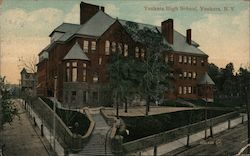 Yonkers High School Postcard