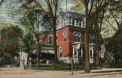Buffalo Club Building Postcard