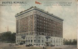 Hotel Kimball, In a Restful Environment but a Minute from Everywhere