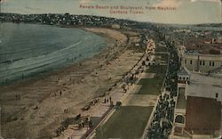 Revere Beach and Boulevard, From Nautical Gardens TOwer