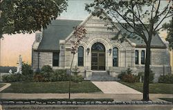 The Bancroft Memorial Library Postcard
