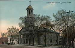Unitarian Church Postcard