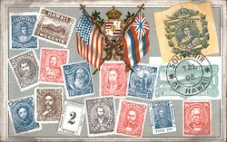 Stamps, Souvenir of Hawaii