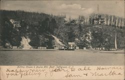 Bathing Houses & Bayles Hill, Long Island