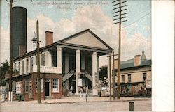 Old Mecklenburg County Court House Postcard