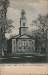 "United Church on the ""Old Green"" Postcard"