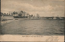 Roton Point on Long Island Sound, Conn.