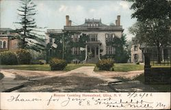 Roscoe Conkling Homestead Postcard
