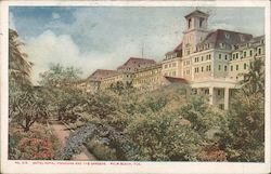 Hotel Royal Poinciana and the Gardens Postcard