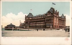 Hotel Chamberline Old Point Postcard