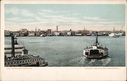 Water Front Postcard