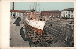 Store Dry Dock - Norfolk Navy Yard Postcard