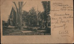 St. Paul's Episcopal Church, Built in 1739, Greetings from Norfolk, VA Postcard