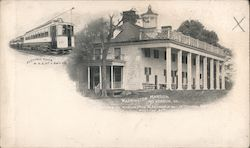 Washington Mansion Postcard