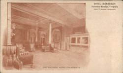 The Rotunda, Hotel Chamberlin, Geo. F. Adams, Manager
