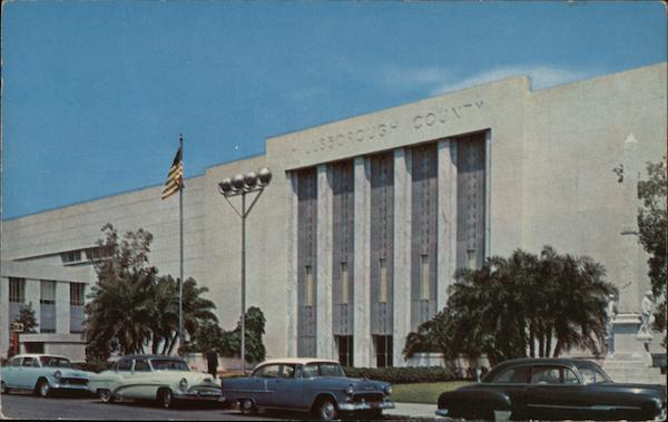Majestic Hillsborough County Courthouse Tampa Florida