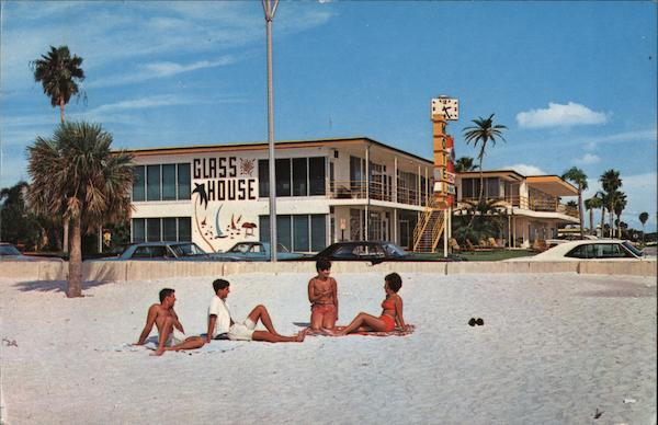 Glass House Apartment Motel Clearwater Beach Florida