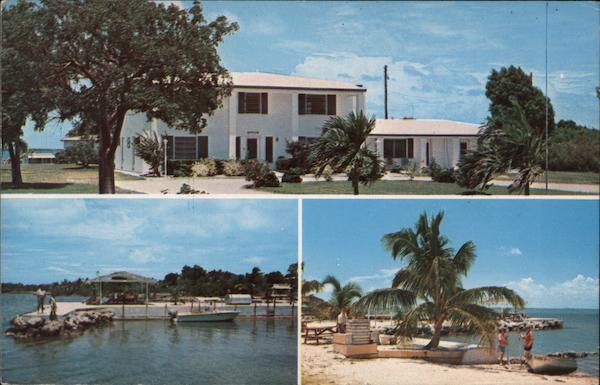 Rock Reef Resort at Key Largo on the Florida Keys on the Intracoastal Waterway