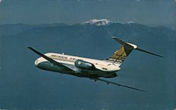 Continental Airlines DC-9 Golden Jet