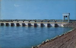 Billion Dollar St. Lawrence River Seaway and Power Project Postcard