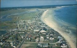 Aerial View of Wells Beach, Maine
