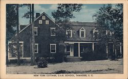 New York Cottage, D.A.R. School Postcard