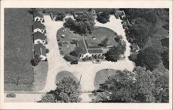 Air-View of Knick's Cottage Court