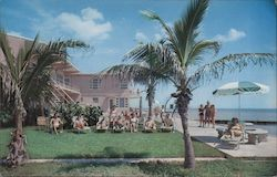 "Sirocco Apartments and Motel ""Directly on the Ocean"" 1401 South Surf Road Postcard"