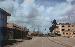 Delray Beach, Florida Postcard