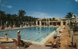 Boca Raton Hotel and Club - Garden Pool Postcard
