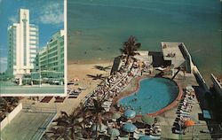 St. Moritz Hotel, Pool, and Cabana Club on the Ocean at 16th Street Postcard