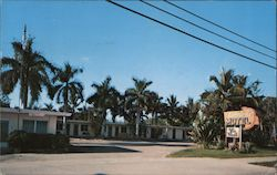 Tamiami Motel 2164 E. Tamiami Trail on U.S. 41 Postcard