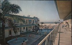 Tahitian-Imperial Motels Postcard