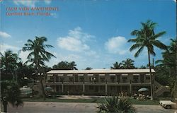 Palm View Apartments Deerfield Beach, Florida Postcard