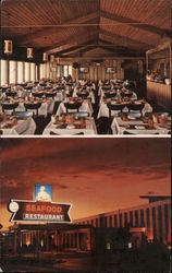 Fisherman's Wharf Restaurant and Dalip's Seafood Restaurant Postcard