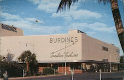 Burdine's Sunshine Fashions - Meridian at Seventeenth Postcard