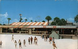 """The Hangout"" at Long Beach Resort Postcard"