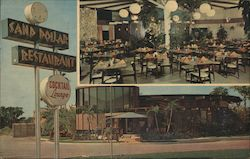 Sand Dollar Restaurant and Lounge Postcard