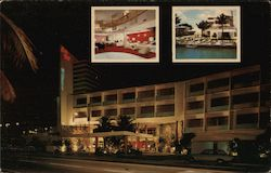 Moulin Rouge Resort Motel Postcard