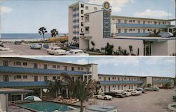Vanguard Motel Postcard