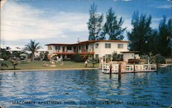 Seacomber Apartment Hotel, Golden Gate Point, Sarasota, Fla.