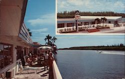 "Sailfish Motel ""Located on the Beautiful Intracoastal Waterway"" Postcard"