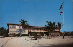 Sunset Apartment Motel Postcard