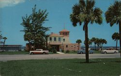 Beach Condo on Tropical Gulf of Mexico Postcard