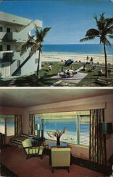 Sands Motel and Apartment Postcard