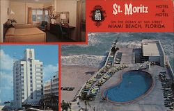 St. Moritz Hotel & Motel on the Ocean at 16th Street Miami Beach, Florida