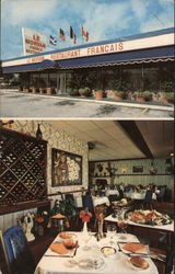 Le Morvan French Restaurant Postcard