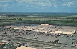 Aerial View of Edison Mall Shopping Center on Cleveland Avenue